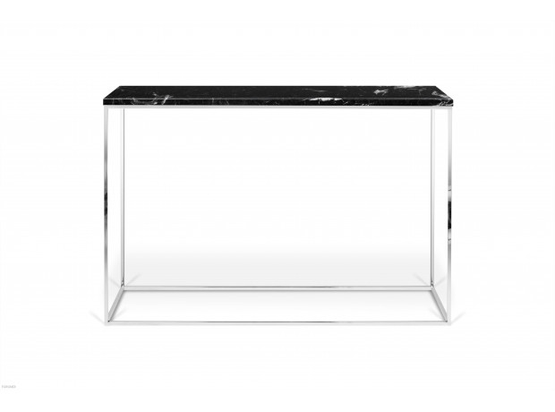 TemaHome - Gleam Console Marble CROME LEGS